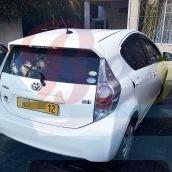 Toyota aqua 2012 hybrid rs1300 white (2)