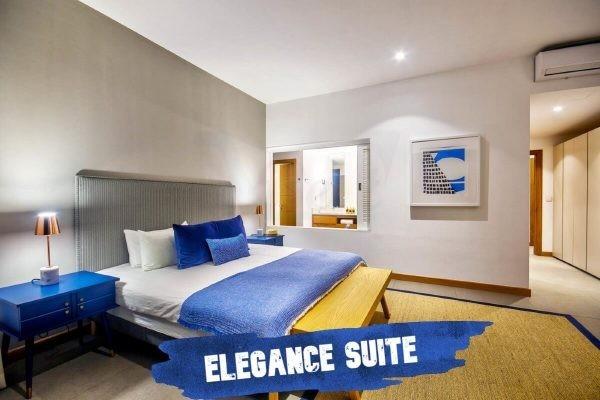 Mythic Suites and Villas elegance bedroom