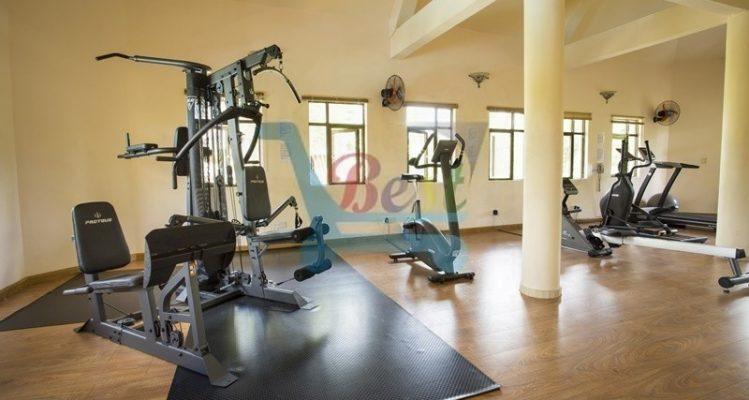 hotel-le-palmiste pool Gym