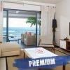 Leora beachfront Premium Apartments tv room