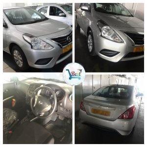 Rent a car in Mauritius Nissan Almera