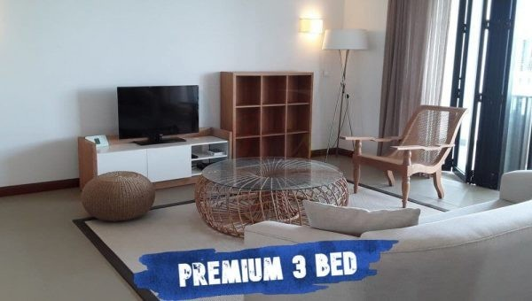 Azuri Residences & Villas Premium 3 Bed Living Room view