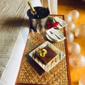 Birthday Package at L'Exil Lodges Day Use Room