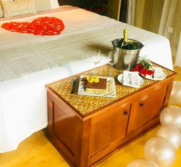 Birthday Package at L'Exil Lodges Day Use Room Set-up