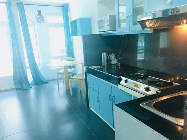 Residence La Plage kitchen