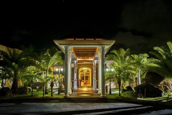 Jalsa Beach Hotel Entrance